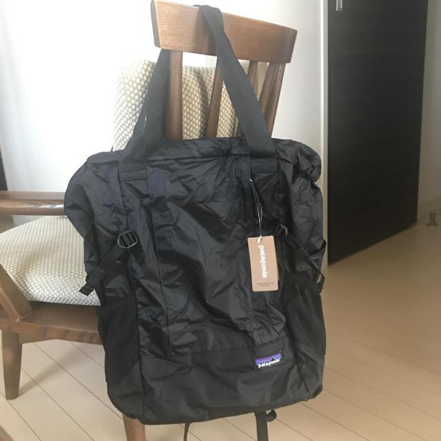 patagonia(パタゴニア)のパタゴニア ライトウェイト トラベル トート パック リュック 新品、タグ付き レディースのバッグ(リュック/バックパック)の商品写真