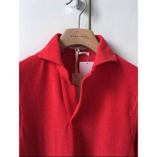 ギローバー(GUY ROVER)の新品 春夏 ギローバー XS GUY ROVER ギ・ローバー ポロシャツ 赤(ポロシャツ)