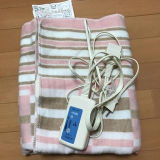 ma-mo様専用 電気しき毛布(電気毛布)