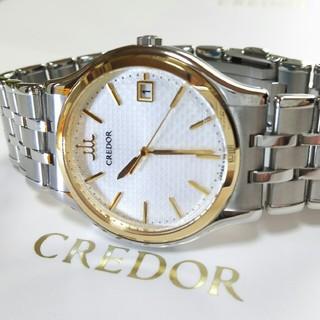 セイコー(SEIKO)の♦現行モデル セイコー クレドール 定価29万 18KT金ベゼル 極上品メンズ (腕時計(アナログ))