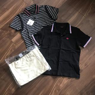 オークリー(Oakley)のゴルフ レディース ポロシャツ&ミニトートセット(ウエア)