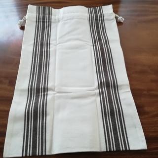 ムジルシリョウヒン(MUJI (無印良品))の無印良品、バスク織、布袋(生地/糸)
