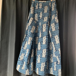 ヴィヴィアンウエストウッド(Vivienne Westwood)のロープ柄 ロングスカート(ロングスカート)