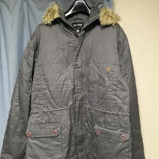 ズーヨーク(ZOO YORK)のZOO YORK ボア付フードジャケット ビックサイズ XL(ブルゾン)