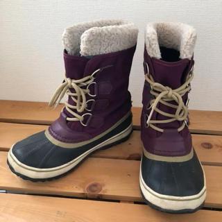 ソレル(SOREL)のソレル SOREL レディース ウインターカーニバル◎スノーブーツ 23cm(ブーツ)