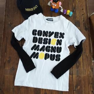 コンベックス(CONVEX)の☆CONVEX重ね着風ロンT☆Ssize(Tシャツ/カットソー)