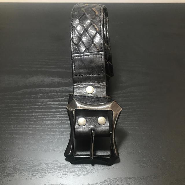 Diavlo(ディアブロ)のディアブロ 皮ベルト メンズ ベルト Diavro Diablo ブランド 黒 メンズのファッション小物(ベルト)の商品写真