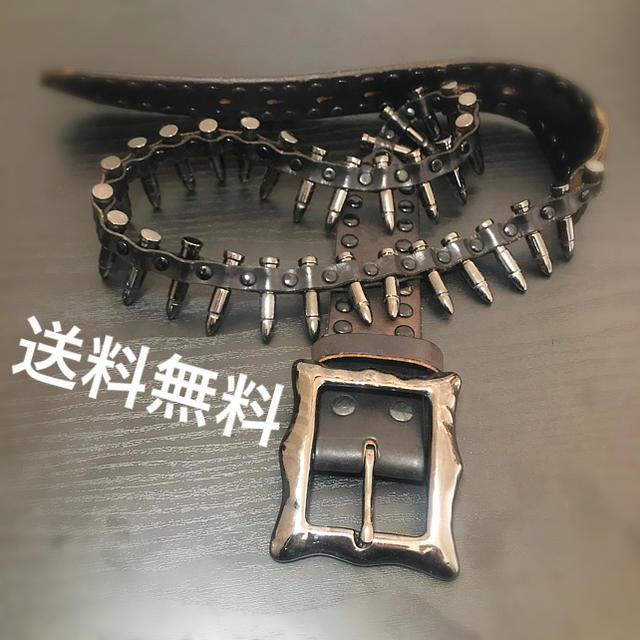 Diavlo(ディアブロ)のディアブロ Diavro 弾丸ベルト ベルト 皮 コスプレ ミニタリ― メンズ メンズのファッション小物(ベルト)の商品写真