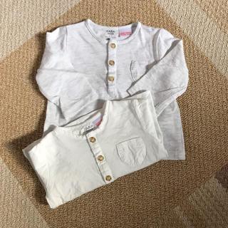 ザラ(ZARA)のポケット付きヘンリーTシャツ(Tシャツ)