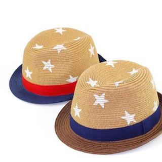ザラ(ZARA)の新品 kidsサイズ ストローハット(帽子)