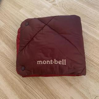 モンベル(mont bell)のモンベル ダウン ネックウォーマー 新品未使用 レッド MR(ネックウォーマー)
