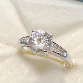 シルバーリング♡キラキラジルコニア レディース 指輪(リング(指輪))