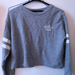ジーユー(GU)の長袖シャツ(Tシャツ(長袖/七分))