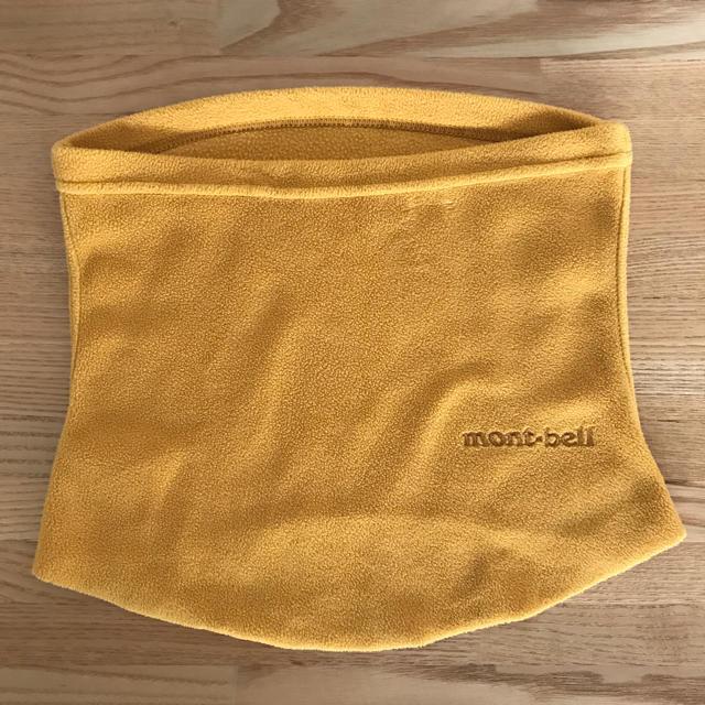 mont bell(モンベル)のmontbellネックウォーマー子供用 キッズ/ベビー/マタニティのこども用ファッション小物(マフラー/ストール)の商品写真