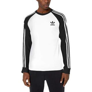 アディダス(adidas)のアディダスオリジナルス メンズ長袖 ロングTシャツ US:Lサイズ(Tシャツ/カットソー(七分/長袖))