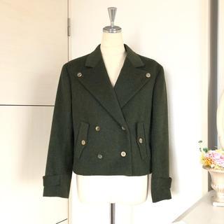 ラルフローレン(Ralph Lauren)の美品 ラルフローレン ダブルボタンコート ジャケット(ピーコート)