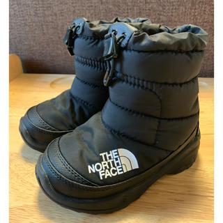 ザノースフェイス(THE NORTH FACE)のTHE NORTH FACE ヌプシ ブラック 16センチ(ブーツ)