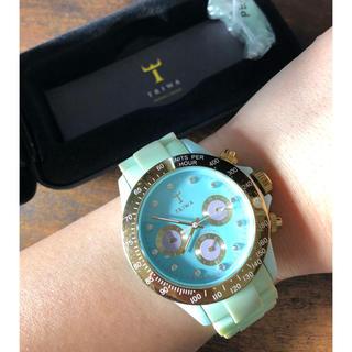 トリワ(TRIWA)のTRIWA ターコイズブルー(腕時計(アナログ))