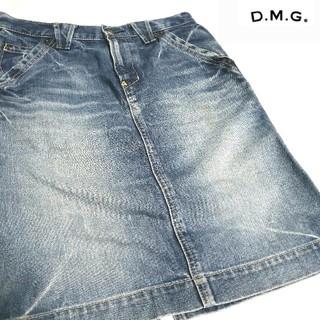 ディーエムジー(D.M.G)の♡D.M.G♡デニムスカート(*´∀`)♪ 児島デニム! 日本製(ひざ丈スカート)