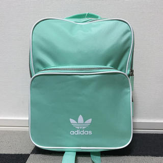 アディダス(adidas)のadidas アディダス リュック バッグパック レディース ミントグリーン(リュック/バックパック)