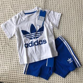 アディダス(adidas)の未使用 アディダスベビー  Tシャツパンツセット(Tシャツ)