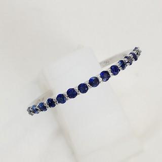 冬姫様専用おまとめページ ブラックダイヤリングとサフィヤ ハーフエタニティリング(リング(指輪))