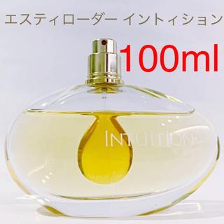 エスティローダー(Estee Lauder)の⭐︎大容量品⭐︎ エスティローダー イントゥイション EDP SP 100ml(香水(女性用))