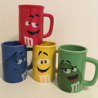 エムアンドエムアンドエムズ(m&m&m's)のm&m's マグカップ 4色セット(グラス/カップ)
