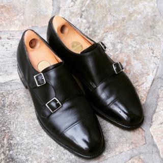 ジョンロブ(JOHN LOBB)のこん様専用 ジョンロブ ウィリアム UK5.5 ブラックバッファロー (ドレス/ビジネス)