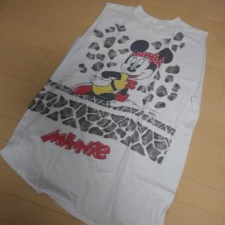 ディズニー(Disney)のvintage ♡ Tシャツワンピ(ミニワンピース)