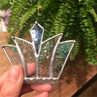 ロンハーマン(Ron Herman)のステンドグラス 王冠 ティアラ (置物)