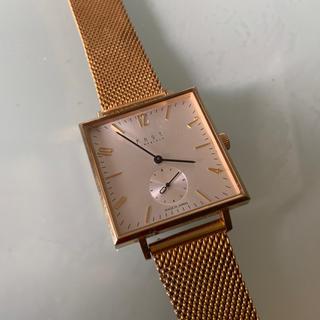 ノット(KNOT)のknot  KNOT 腕時計 ゴールド(金属ベルト)