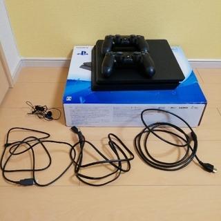 プレイステーション4(PlayStation4)のPlayStation4本体セット+純正コントローラー(家庭用ゲーム機本体)