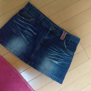 ブルームーンブルー(BLUE MOON BLUE)のブルームーンブルースカート♡rakuma②(ミニスカート)