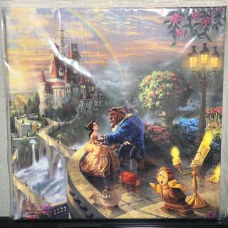 ディズニー(Disney)のディズニー 美女と野獣 Disney 画 キャンバス 正規品保証ホログラム付き(絵画/タペストリー)
