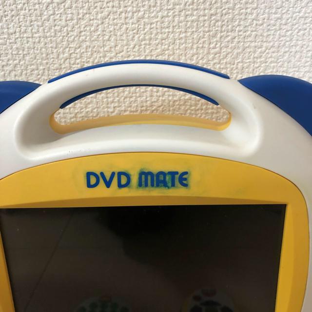 Disney(ディズニー)の売り切り価格。チャイルドロック付きディズニー 英語 dvdプレイヤー スマホ/家電/カメラのテレビ/映像機器(DVDプレーヤー)の商品写真