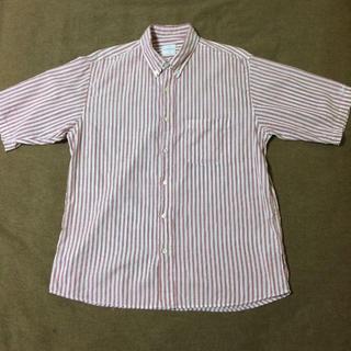 グッドイナフ(GOODENOUGH)のGOODENOUGH 半袖ストライプシャツ(シャツ)