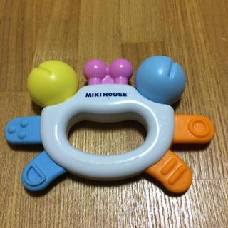 ミキハウス(mikihouse)のミキハウス 歯固め ラトル(その他)