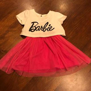 バービー(Barbie)のとみ様専用【バービー】女の子 80cm ワンピース(ワンピース)