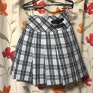 クラウンバンビ(CROWN BANBY)のチェックスカート(スカート)
