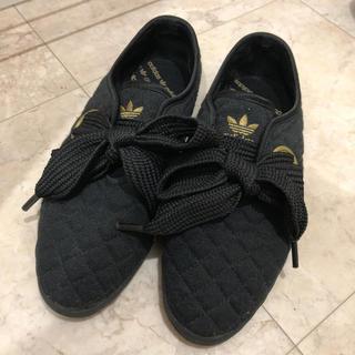 アディダス(adidas)のadidas リレースロー 24.5 キルティング(スニーカー)