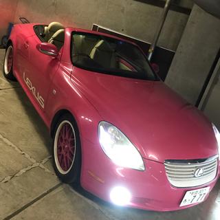 トヨタ(トヨタ)のレクサス仕様☆ピンクフルオープンBBS(車体)