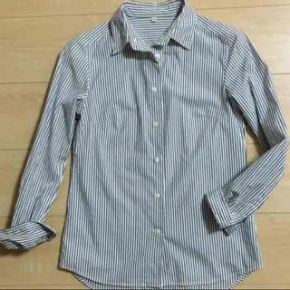 ムジルシリョウヒン(MUJI (無印良品))の無印良品 ストライプシャツ XS(シャツ/ブラウス(長袖/七分))