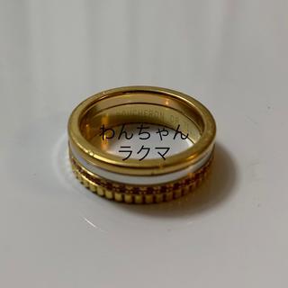 ブシュロン(BOUCHERON)のブシュロン キャトルリング 限定品 激レア ピンクサファイア 56号(リング(指輪))