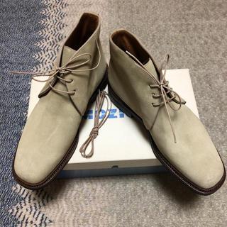 ヤンコ(YANKO)の未使用 ヤンコ (スペイン) スェードブーツ 25.5センチ(ブーツ)