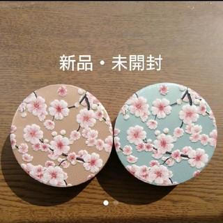カルディ(KALDI)のカルディ さくら キャンディ缶 2つ(菓子/デザート)