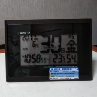 カシオ(CASIO)の☆ちえゴン様専用☆カシオ電波時計[掛時計](掛時計/柱時計)