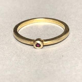 デミルクスビームス(Demi-Luxe BEAMS)のfruitsjolie 天然石リング 11号(リング(指輪))