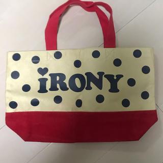 アイロニー(IRONY)のiRONY バッグ(トートバッグ)