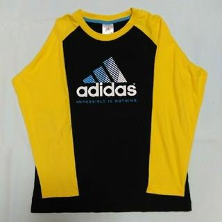 アディダス(adidas)のadidas ロンT(Y×B)150センチ(Tシャツ/カットソー)